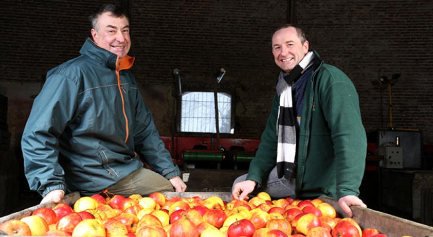 Croquons local avec les pommes du Val Vion !